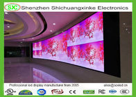 P6 RGB Stage Indoor Full Color Advertising LED Display , 16 Scanning Nova system WIFI
