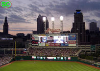 P6 Outdoor giant Baseball Stadium LED Display 5 Years Warranty , led tv display