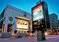 7500cd/sqm Brightness HD Outdoor Full Color LED Display P10 DIP IP 65 Fixed Installation
