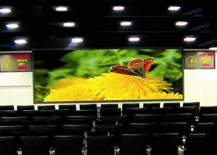 Smd2121 Indoor Full Color LED Display With 2500nits Brightness For Stage , 1.923mm Pixel