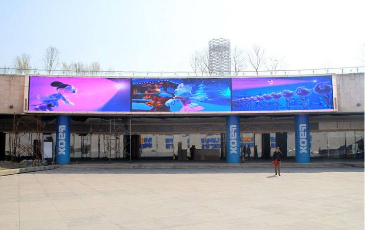 P10 full color advertising led display board HD SMD3535 NOVA conrrol BIG display