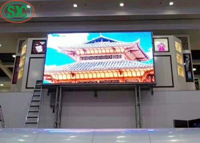High Brightness 3535 SMD LED Billboards 192mm x192mm module size