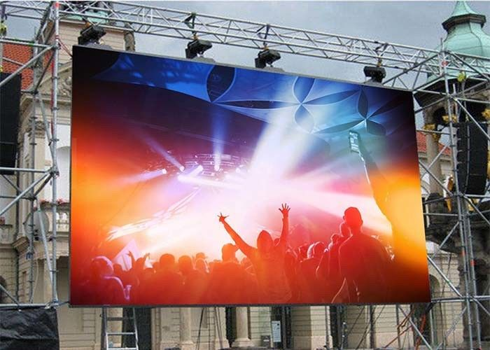 3840 Hz Refresh Rate P3.91 P4.81 500*500mm 500*1000mm Outdoor Waterproof LED Rental Screens