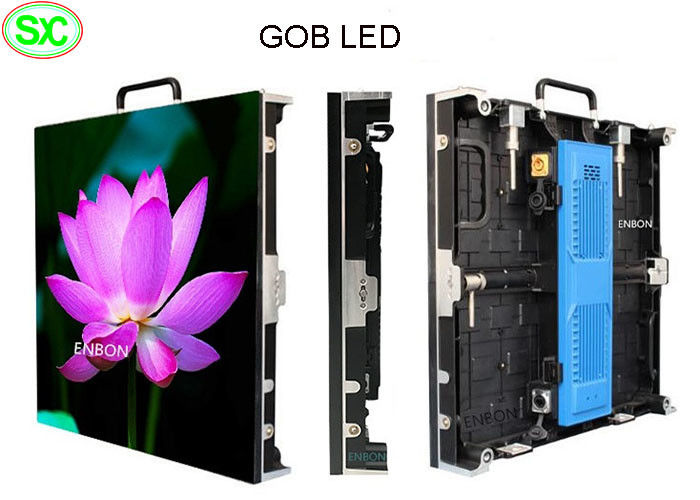 P2 p1.6 Front Protection Waterproof GOB Led Screen small pixel Rental LED Display