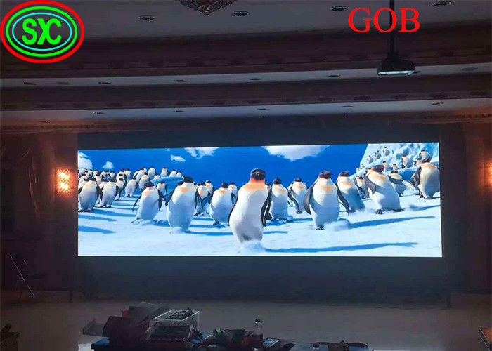 2020 New video wall led tv led display screen backdrop advertising on led screen GOB COB technology LED screens